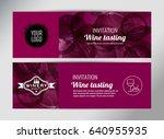 banner template  flyer or gift... | Shutterstock .eps vector #640955935