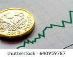 new british one pound sterling... | Shutterstock . vector #640959787