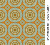 vector seamless pattern.... | Shutterstock .eps vector #640976854