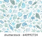 summer time horizontal banner.... | Shutterstock .eps vector #640992724