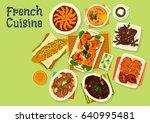 French Cuisine Festive Dinner...