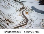 Snake Road In Mountains   The...