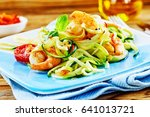 healthy low carbohydrate... | Shutterstock . vector #641013721