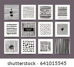 artistic freehand vector art... | Shutterstock .eps vector #641015545