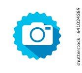 camera icon vector eps 10... | Shutterstock .eps vector #641024389