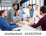 professional businesspeople... | Shutterstock . vector #641025544