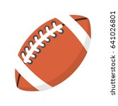 american football icon | Shutterstock .eps vector #641026801