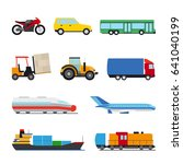 transport flat icon. perfect... | Shutterstock . vector #641040199