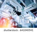 industrial factory. various... | Shutterstock . vector #641040541