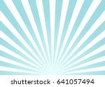 sun rays | Shutterstock .eps vector #641057494