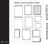 vector set of elements for... | Shutterstock .eps vector #641079571