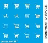 shopping cart icon   Shutterstock .eps vector #641097931