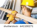 worker on building contractor...