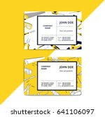 home improvement corporate... | Shutterstock .eps vector #641106097