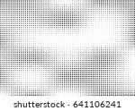 abstract halftone dotted... | Shutterstock .eps vector #641106241