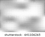 abstract halftone dotted... | Shutterstock .eps vector #641106265