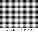 Black And White Gingham Patter...