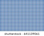 Dark Blue Gingham Pattern...