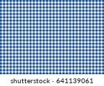 dark blue gingham pattern... | Shutterstock . vector #641139061