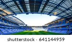london   july 24  empty seats... | Shutterstock . vector #641144959