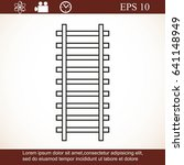 rail road icon | Shutterstock .eps vector #641148949