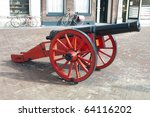 Old Medieval Cannon For The...