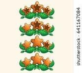 set of wooden stars for app...