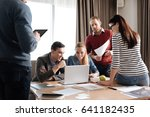 collective of professionals... | Shutterstock . vector #641182435