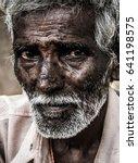 portrait of elder indian man... | Shutterstock . vector #641198575