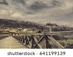 veliko tarnovo  bulgaria   view ...   Shutterstock . vector #641199139