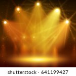 spotlight on stage for your... | Shutterstock .eps vector #641199427