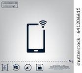 wireless connectivity concept.... | Shutterstock .eps vector #641206615