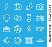 shutter icons set. set of 16...   Shutterstock .eps vector #641240161