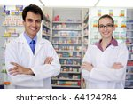 small business owners  portrait ... | Shutterstock . vector #64124284