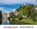 intimate cityscape of the... | Shutterstock . vector #641245015