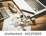personal financial planning... | Shutterstock . vector #641252839