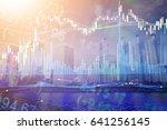 forex market background ... | Shutterstock . vector #641256145