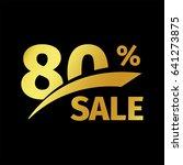 black banner discount purchase... | Shutterstock .eps vector #641273875