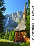Upper Yosemite Falls And...