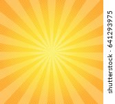 sun rays background with