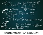 physical notation with the... | Shutterstock .eps vector #641302024