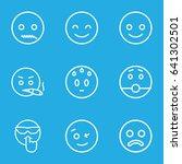 smiley icons set.   | Shutterstock .eps vector #641302501
