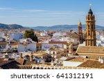 historic village of antequera... | Shutterstock . vector #641312191