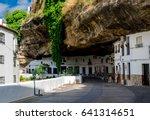"""setenil de las bodegas""...   Shutterstock . vector #641314651"