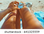 close up outdoor photo of... | Shutterstock . vector #641325559