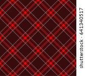 seamless plaid lumberjack and... | Shutterstock .eps vector #641340517