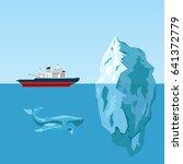 Diesel Icebreaker Ship  Iceber...