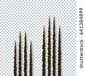 claws scratches   vector... | Shutterstock .eps vector #641384899