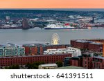 Aerial View Of Liverpool...