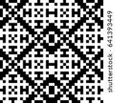 vector seamless pattern.... | Shutterstock .eps vector #641393449